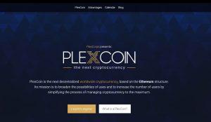 Plexcoin.com svetainė vis dar veikia